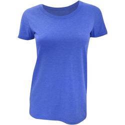 Kleidung Damen T-Shirts Bella + Canvas BE8413 Königsblau Triblend