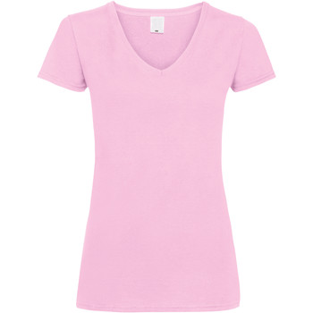 Kleidung Damen T-Shirts Universal Textiles Value Babyrosa