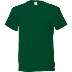 Kleidung Herren T-Shirts Universal Textiles 61082 Dunkelgrün