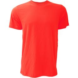 Kleidung Herren T-Shirts Bella + Canvas CA3001 Rot