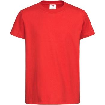 Kleidung Kinder T-Shirts Stedman  Scharlachrot