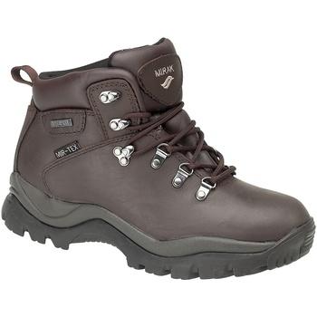 Schuhe Damen Wanderschuhe Mirak Nebrasaka Braun
