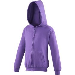 Kleidung Kinder Sweatshirts Awdis JH50J Violett