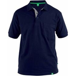 Kleidung Herren Polohemden Duke  Marineblau
