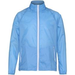 Kleidung Herren Windjacken 2786  Himmelblau/Weiß