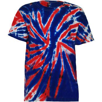 Kleidung Kinder T-Shirts Colortone TD02B Union Jack