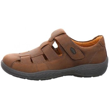 Schuhe Herren Slipper Jomos Flats 418201 braun