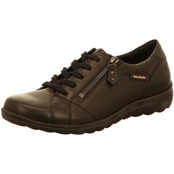 Schuhe Damen Derby-Schuhe & Richelieu Mephisto Schnuerschuhe Camilia 7800 black schwarz