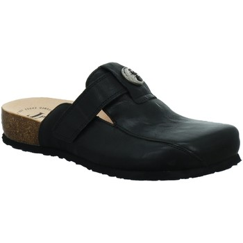 Schuhe Damen Pantoletten / Clogs Think Julia Tieffußbettpantolette 585349-0000 schwarz