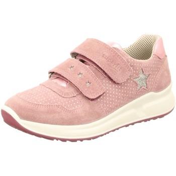 Schuhe Mädchen Sneaker Low Superfit Klettschuhe KINDERSCHUHE   LK \ MERIDA 187-90 rosa
