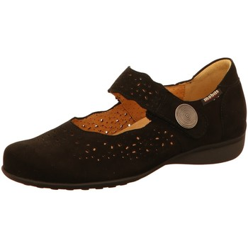 Schuhe Damen Ballerinas Mephisto Slipper Fabienne 6900 schwarz