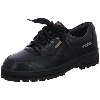 Schuhe Herren Multisportschuhe Mephisto Schnuerschuhe MephBarracuda Barracuda schw schwarz