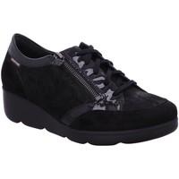 Schuhe Damen Sneaker Low Mephisto Schnuerschuhe Gladice 12200/15900 schwarz