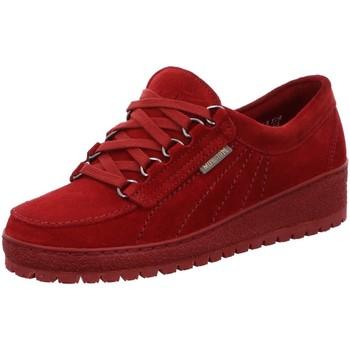 Schuhe Damen Sneaker Low Mephisto Schnuerschuhe LADY LADY VELOURS rot