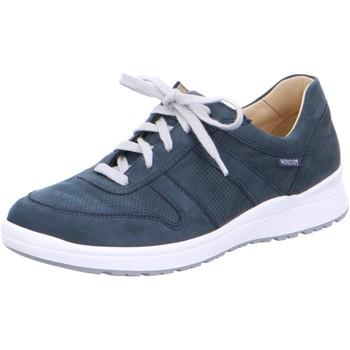 Schuhe Damen Sneaker Low Mephisto Schnuerschuhe Rebeca Perf 6945 blau