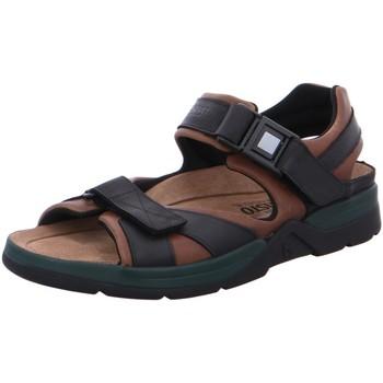 Schuhe Herren Sportliche Sandalen Mephisto Offene Shark Fit 5751/5700 braun