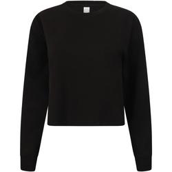 Kleidung Damen Sweatshirts Skinni Fit SK515 Schwarz