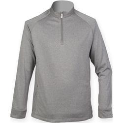 Kleidung Herren Pullover Henbury HB862 Grau meliert