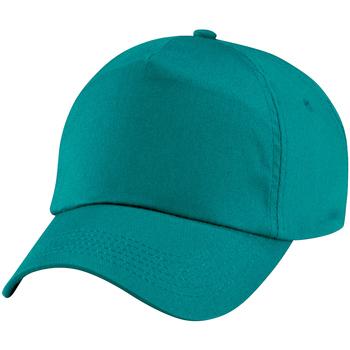 Accessoires Kinder Schirmmütze Beechfield BC10B Emerald