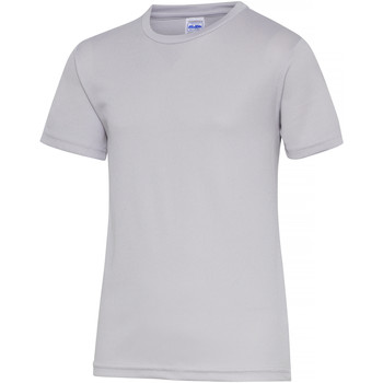 Kleidung Kinder T-Shirts Awdis JC01J Grau meliert