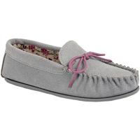 Schuhe Damen Slipper Mokkers Lily Grau