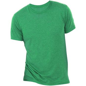 Kleidung Herren T-Shirts Bella + Canvas CA3413 Grün Triblend