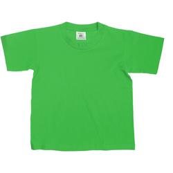 Kleidung Kinder T-Shirts B And C TK300 Grün