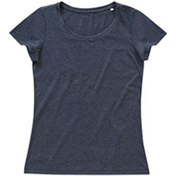 Kleidung Damen T-Shirts Stedman Stars Lisa Anthrazit meliert