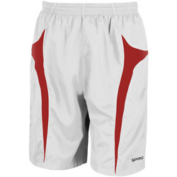 Kleidung Herren Shorts / Bermudas Spiro S184X Weiß/Rot