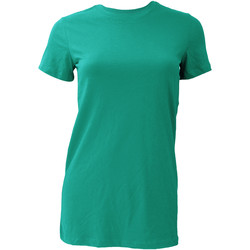 Kleidung Damen T-Shirts Bella + Canvas BE6004 Blaugrün