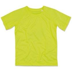 Kleidung Kinder T-Shirts Stedman  Cyber Gelb