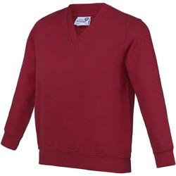 Kleidung Kinder Pullover Awdis AC03J Claret