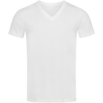 Kleidung Herren T-Shirts Stedman Stars  Weiß