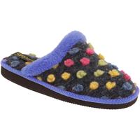 Schuhe Damen Hausschuhe Sleepers Donna Blau/Bunt