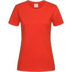 Kleidung Damen T-Shirts Stedman  Brilliantes Orange