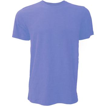 Kleidung Herren T-Shirts Bella + Canvas CA3001 Petrol meliert