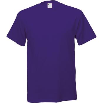 Kleidung Herren T-Shirts Universal Textiles 61082 Weintraube