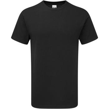 Kleidung Herren T-Shirts Gildan H000 Schwarz