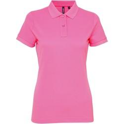 Kleidung Damen Polohemden Asquith & Fox AQ025 Neon Pink
