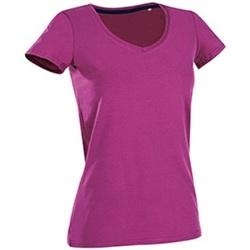 Kleidung Damen T-Shirts Stedman Stars Claire Pink