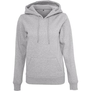 Kleidung Damen Sweatshirts Build Your Brand BY026 Grau meliert