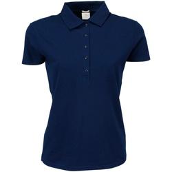 Kleidung Damen Polohemden Tee Jays TJ145 Marineblau