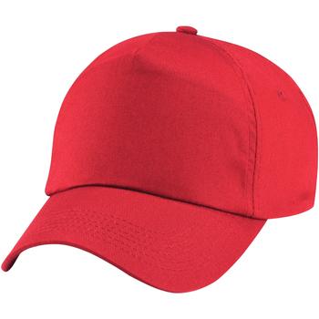 Accessoires Mädchen Schirmmütze Beechfield B10B Bright Rot