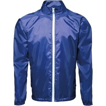 Kleidung Herren Windjacken 2786  Königsblau/Weiß