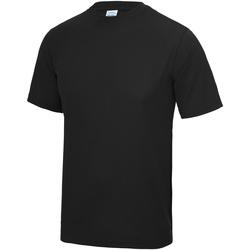 Kleidung Herren T-Shirts Awdis JC001 Tiefschwarz