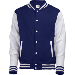 Kleidung Jacken Awdis JH043 Dunkelblau/Grau