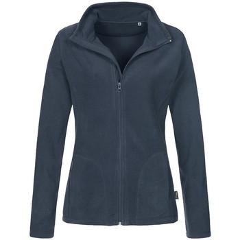 Kleidung Damen Fleecepullover Stedman  Blau