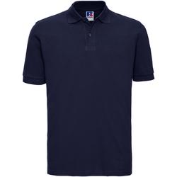 Kleidung Herren Polohemden Russell 569M Marineblau