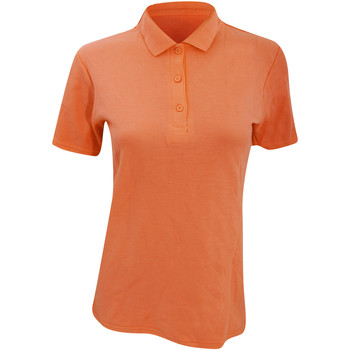 Kleidung Damen Polohemden Anvil 6280L Orange
