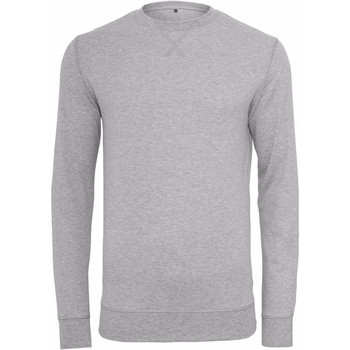 Kleidung Herren Sweatshirts Build Your Brand BY010 Grau meliert